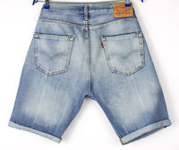 Levi's Strauss & Co Hommes 501 Décontracté Short Jeans Bermuda Taille W33 ARZ549