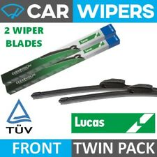 "LUCAS Retro-Fit Hook Type 24"" & 14"" Flat Windscreen Wiper Blades"