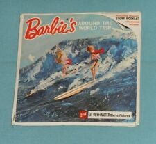 vintage BARBIE'S AROUND THE WORLD TRIP VIEW-MASTER REELS packet (missing booklet