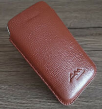 ASSEM HTC Desire 19s echt Leder Handy Tasche Hülle Etui case cover