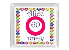 Bingo Birthday Gift Drinks Mug Coaster 18th 21st 30th 40th 50th 60th 70th 80th