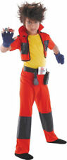Morris Costumes Boy's New Short Sleeve Bakugan Dan Classic Costume 7-8. DG50539K