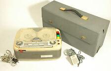 Magnetofono nastro a Valvole Geloso G.268 1961+custodia originale + microfono-PB