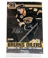Kevan Miller Boston Bruins Signed Autographed Game Day Roster Poster 11x17