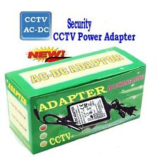 12V 2A  AC DC Power Adapter for CCTV Surveillance Security Camera 5MP 4-in-1 TVI