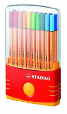New Stabilo Point 88 Color Parade 20pk Assorted Color Ink Pen Set Desk Set of 20