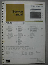 Philips 50 IC323 Kofferradio Service Manual