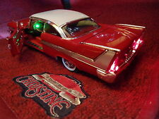 1/18 CLEAN CHRISTINE *MOVIE ACCURATE* 1958 PLYMOUTH FURY MOPAR 1957 STEPHEN KING