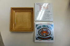 """New Orleans, Caju Country, Crawfish Etouffee, 4 1/4"""" Tile Trivets & Tray!"""