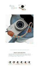 Ciesta Fabric Orange Mint Wrist Strap Twisy for Camera Smartphone Nintendo PSP