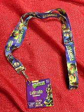 Teenage Mutant Ninja Turtles Lanyard KeyChain ID Strap Brand New 18.5 Inch