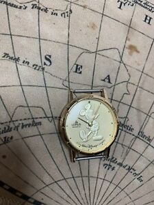"Lorus Unisex Mickey Mouse Quartz Watch Face""The Walt Disney Co"" Y481-8710r Works"