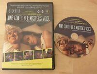 Nina Conti DVD - His Masters Voice - RARE  SIGNED ventriloquist.
