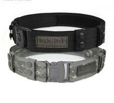 Waist Belt For Men Sports Outdoor Camping Hiking Waistband Accessories Tactical