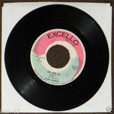 "SLIM HARPO ~ TIP ON IN PARTS 1 & 2 ~ 7"" 45rpm SINGLE ~ EXCELLO 1967"