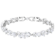 Swarovski 5419244 Louison Bracelet,White,Rhodium Plated, Size M, RRP$299