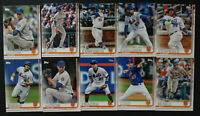 2019 Topps Series 1 New York Mets Team Set 10 Baseball Cards