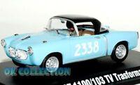 1:43 FIAT 1100/103 TV TRASFORMABILE 1956 _ 1000 Miglia Collection Hachette (30)