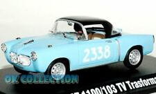 1:43 FIAT 1100/103 TV TRASFORMABILE 1956 _ 1000 Miglia Collection Hachette (30)