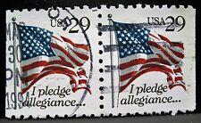 Briefmarke doppelt USA gestempelt 1984 29 cent