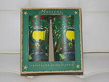 SET OF 2 2017 MASTERS AUGUSTA NATIONAL LIMITED CATSTUDIO DRINKING GLASS