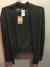 $54 NWT Alternative Earth Thumbs Up Wrap Solid Black Size XS