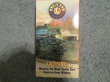 Lionel Trains VHS Ready to Run Train SET instructional tape