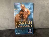 Notice Mode D'emploi Spartan Total Warrior Nintendo Gamecube GC