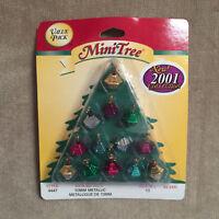 Westrim Crafts Beaded Mini Christmas Tree Ornaments 10mm Metallic #4447