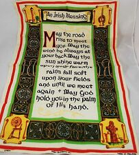 Ireland, An Irish Blessing, Tea Towel, 100% Linen