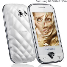 Samsung GT-S7070 Weiß  - SIM-Lock FREI   ♥ NEU ♥  NUOVO ♥ GLAMOUR PUR !