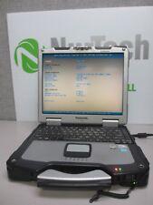 "Panasonic Toughbook CF-30 13.1"" C2D 1.6GHz 4GB/160GB WiFi Laptop w/ Pen -NO AC"