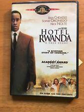 Hotel Rwanda dvd (2004)