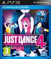 Just Dance 4 PS3 *in Excellent Condition*