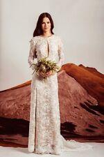 New BHLDN Stone Cold Fox Chloe Lace Wedding Gown Sz. (2) Medium $3000