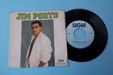 "45 GIRI JIM PORTO ""CARA AMICA MIA / I REMEMBER DAYS"" 1986 SIGLA RECORDS NUOVO"