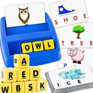 Alphabet Letter Word Match Spell Education Learning Preschool Game for kids 3yr+