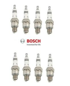 For Chevrolet Corvair Spark Plugs WR8AC Bosch Germany Set of 8