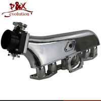 Intake manifold & 90mm Throttle Body For Toyota Supra 1JZGTE JZA70 Coupe Turbo