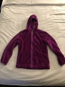 Free Country Fuzzy Purple Girls Lightweight Jacket 7/8