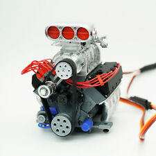 DarkDragonWing® 1/10 RC OHV V8 FD Engine Painted & Assembled