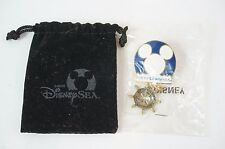 V RARE!! Tokyo Disney SEA Party LE Pin Opening Date Announcement Not For Sale
