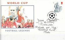 1966 World Cup hero Pickles the Dog owner signed cover FINDER OF THE WORLD CUP