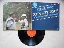"""LP JOHN LITTLETON """"Steal away"""" AUVIDIS AV 4904 FRANCE §"""
