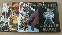 Spider-Man, Punisher and New Universe Marvel Trade Paperbacks (TPB)