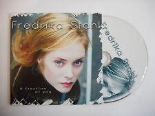 FREDRIKA STAHL : A FRACTION OF YOU [ CD SINGLE ] ~ PORT GRATUIT !