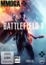 Battlefield 1 Eins Key - EA Origin Download Code PC Spiel NEU BF 1 One NEU EU/DE