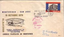 URUGUAY 1970 FIRST HELICOPTER FLIGHT MONTEVIDEO-SAN JOSE CIARDI V 99
