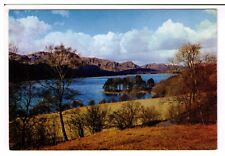 Postcard: Coniston Water and Fir Island, Lake District