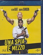 Blu-ray **UNA SPIA E MEZZO** con Dwayne The Rock Johnson nuovo 2016